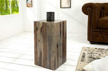 Säule Columna 50cm vintage naplavené drevo