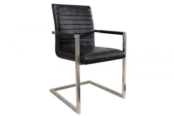 Stolička Imperial antik čierna