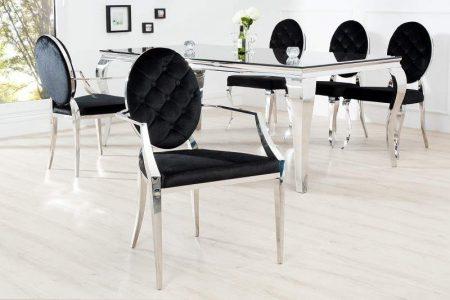 Stolička Modern Barock m. Armlehne