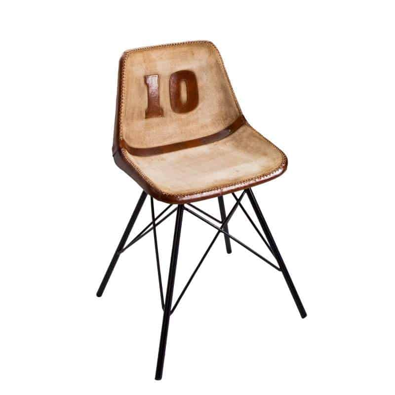 7e7d67892b42 Kožená jedálenská stolička Rugby » » iKuchyne