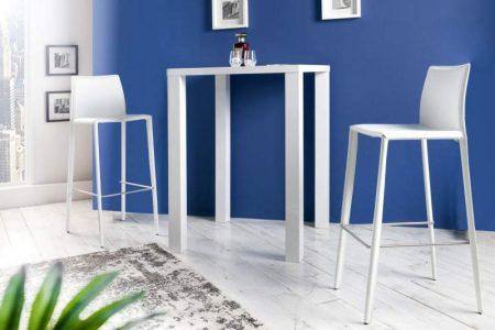 Barová stolička A-042 - biela
