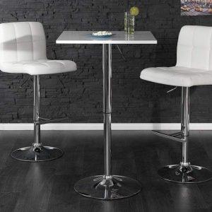 Barová stolička A-042 - biela lak