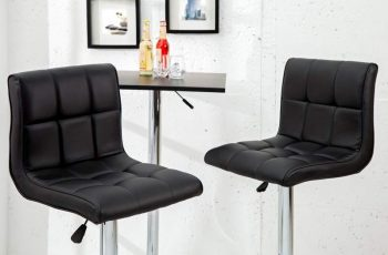 Barová stolička A-042 - čierna