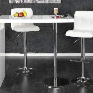 Barová stolička Magnus biela