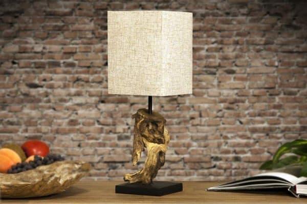 Béžová stolová lampa Hypnotic »
