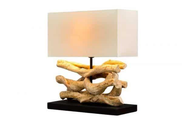 Béžová stolová lampa Wave »