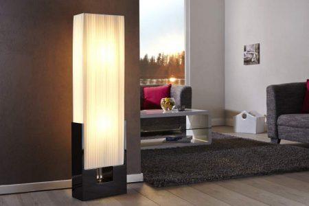 Biela stojanová lampa Liana 120 cm »