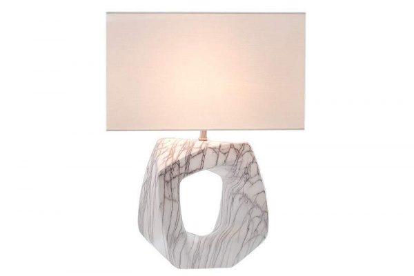 Biela stolová lampa Florence 60 cm »