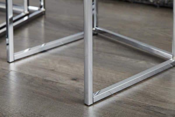 Biely konferenčný stolík New Fusion set 3 ks »