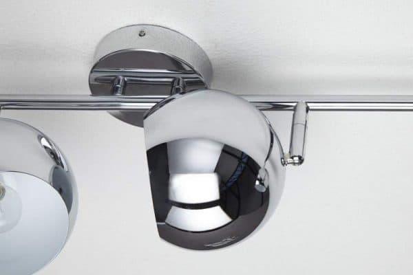 Chrómová závesná lampa Bubble Ø 15 cm »