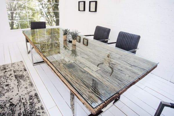 Drevený jedálenský stôl Barracuda 100 x 180 cm »