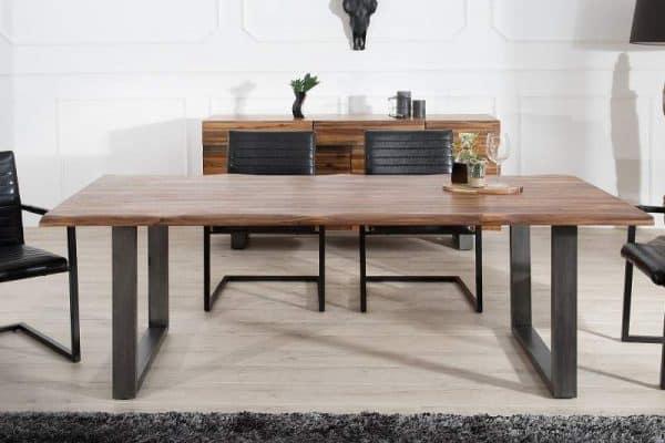 Drevený jedálenský stôl Genesis 100 x 200 cm – 35 mm »