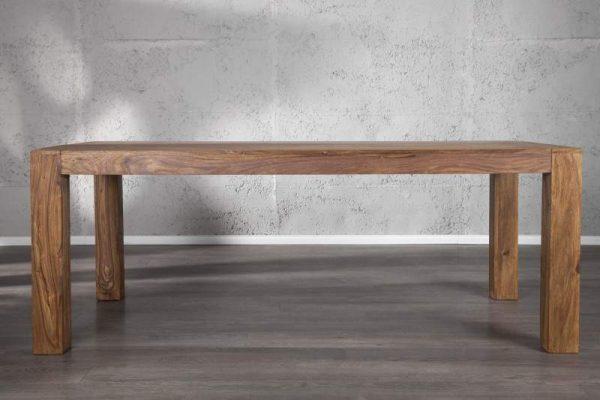 Drevený jedálenský stôl Makassar Sheesham 100 x 200 cm »