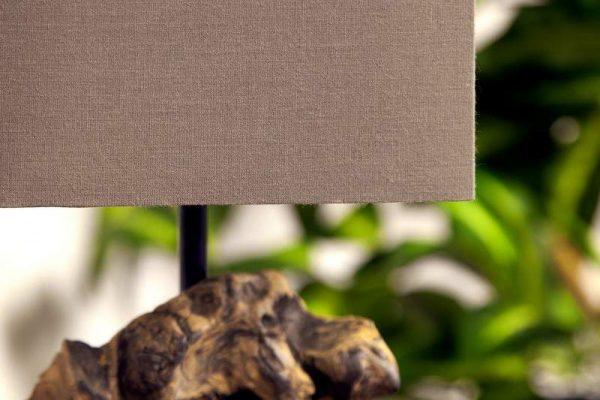 Hnedá stolová lampa Hypnotic »