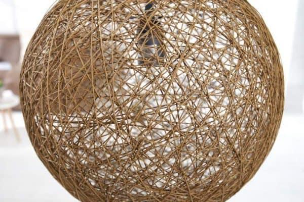 Hnedá závesná lampa Cocoon Ø 45 cm »