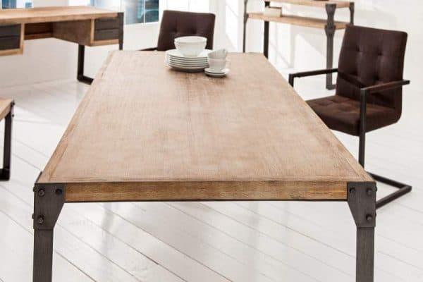 Industriálny jedálenský stôl Factory 90 x 160 cm »