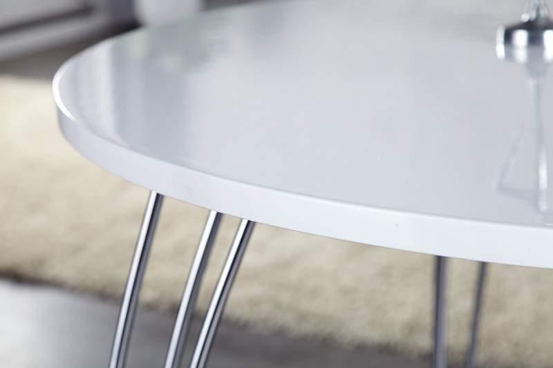 d06df3640898 Okrúhly biely jedálenský stôl Arrondi Ø 90cm - 20 mm » » iKuchyne ...