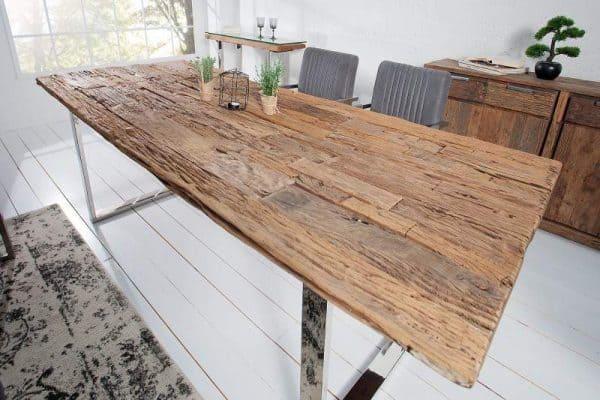 Jedálenský stôl Barracuda 200cm recyklát teakové drevo