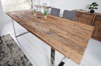 Jedálenský stôl Barracuda 240cm recyklát teakové drevo