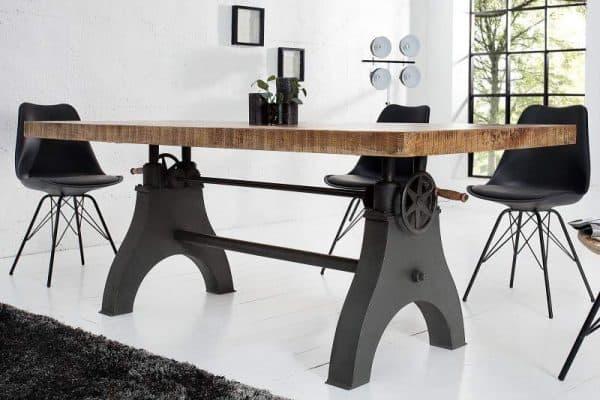 Jedálenský stôl Engineer 200cm Mango