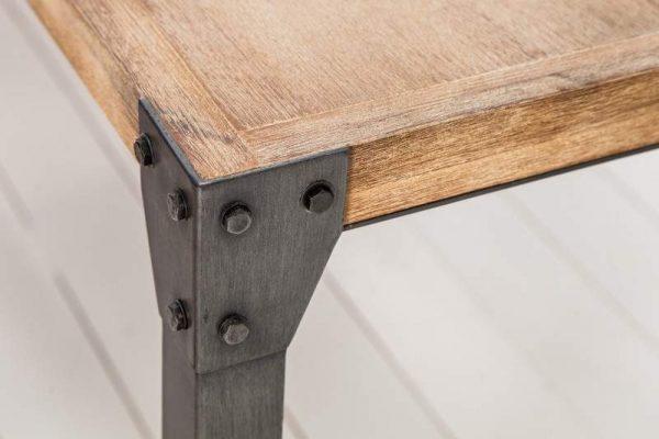 Jedálenský stôl Factory 160cm agát Teak šedý