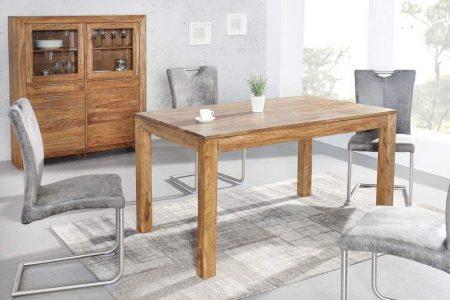 Drevený jedálenský stôl Lagos 80 x 120 cm
