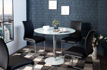 Jedálenský stôl Liquid biely