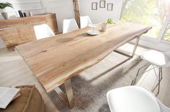 Jedálenský stôl Mammut 300cm agát 60mm Kufe