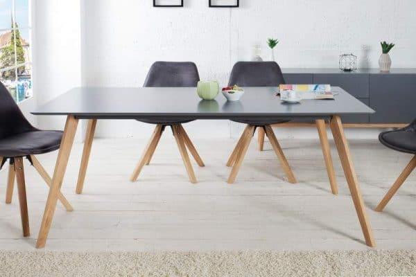 Jedálenský stôl Mezzo - grafit