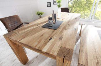 Jedálenský stôl Mezzo - prírodná