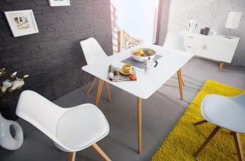 Jedálenský stôl Scandinavia 120cm biela