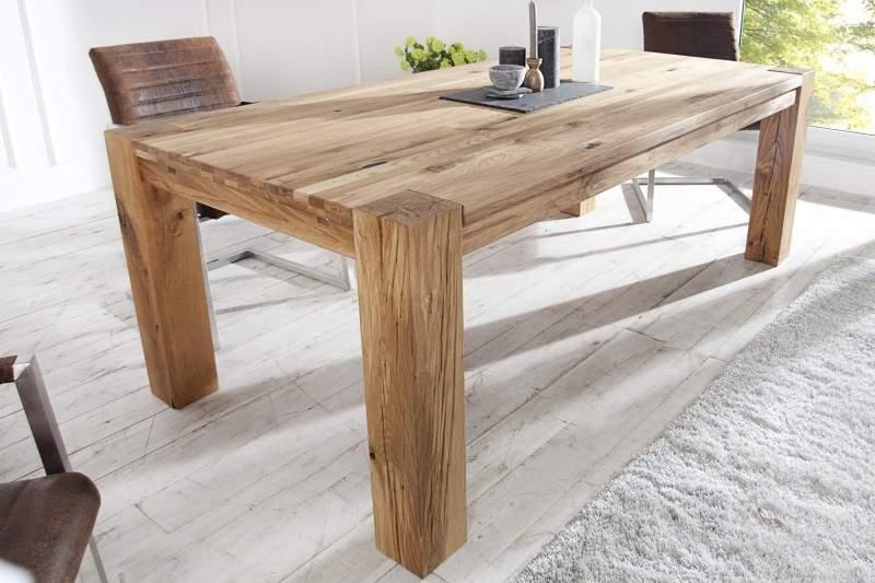 ba87b2b4cfcb Drevený jedálenský stôl Dub Masív 100 x 200 cm » » iKuchyne