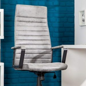 Kancelárska stolička Q-253 - sivá vintage