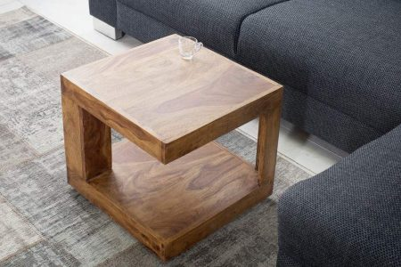 Konferenčný stolík Giant S 45cm sheesham