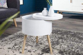 Konferenčný stolík Multi Talent 45cm biela