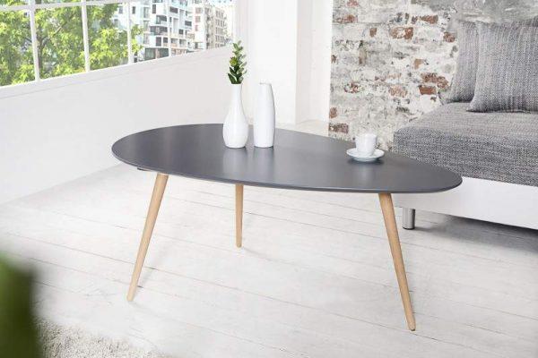 Konferenčný stolík New Fusion set 2ks - grafit