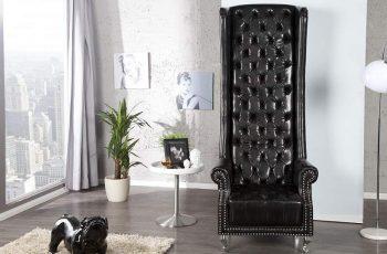 Kreslo Royal Chair - čierne
