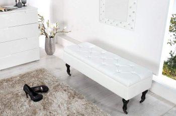 Lavica Wild Oak 160cm - biela