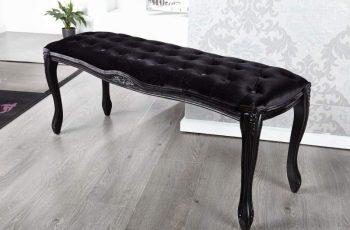 Lavica Wild Oak 160cm - čierna