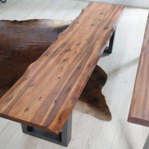 Lavica Wild Oak 160cm - prírodná