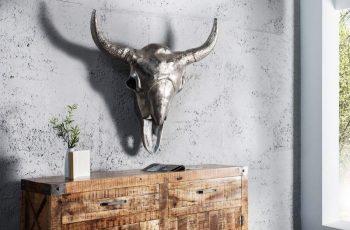 Lebka Matador 95cm - strieborná