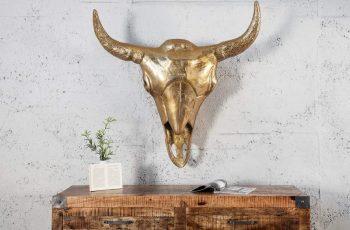 Lebka Matador 95cm - zlatá