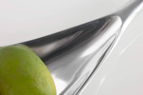 Miska Silver Leaf strieborná 60x15cm