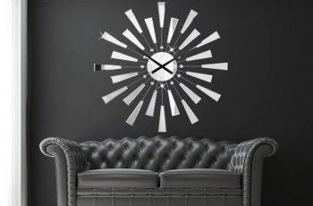 Nástenné hodiny Reflections  90 cm