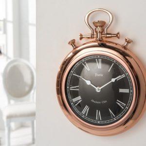 Nástenné hodiny Timeless 45cm - meď