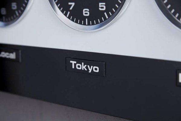 Nástenné hodiny World Time / Magneten