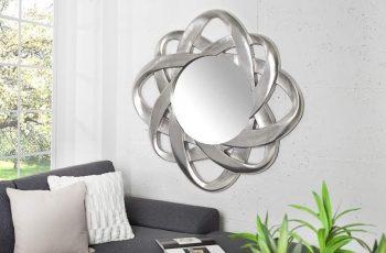 Nástenné zrkadlo Endless 90cm strieborná