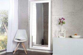 Nástenné zrkadlo Reflection 150cm biela