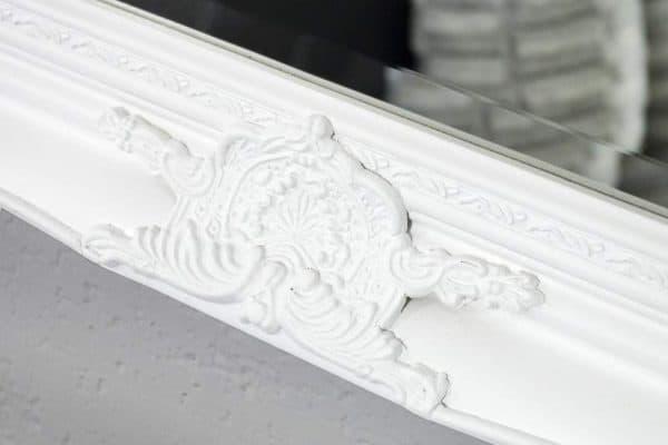 Nástenné zrkadlo Renaissance biela 75 x 105 cm