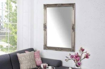 Nástenné zrkadlo Renaissance strieborná 75 x 105 cm